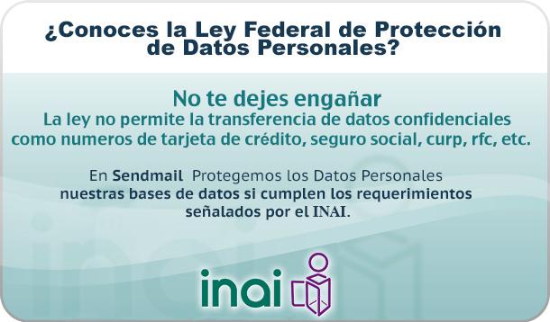 Ley Federal de Datos Personales